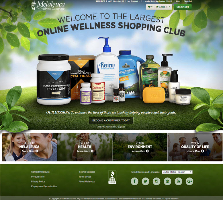 healthy wellness products