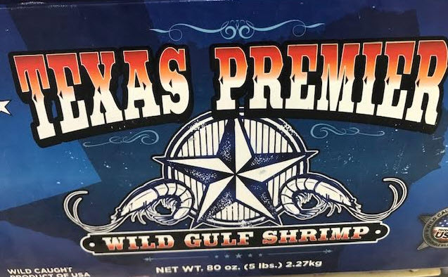 Gulf shrimp, Texas premier shrimp